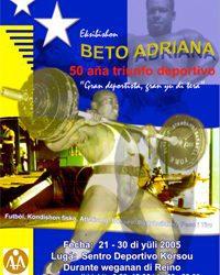 "BETO ADRIANA, 50 AÑA  TRIUNFO DEPORTIVO"""