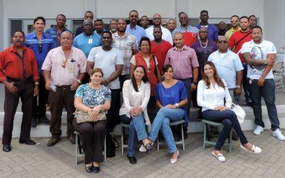 7 juli 2017 trahado nan di refineria isla a bin bishita e exsposishon di isla den nos bida na naam